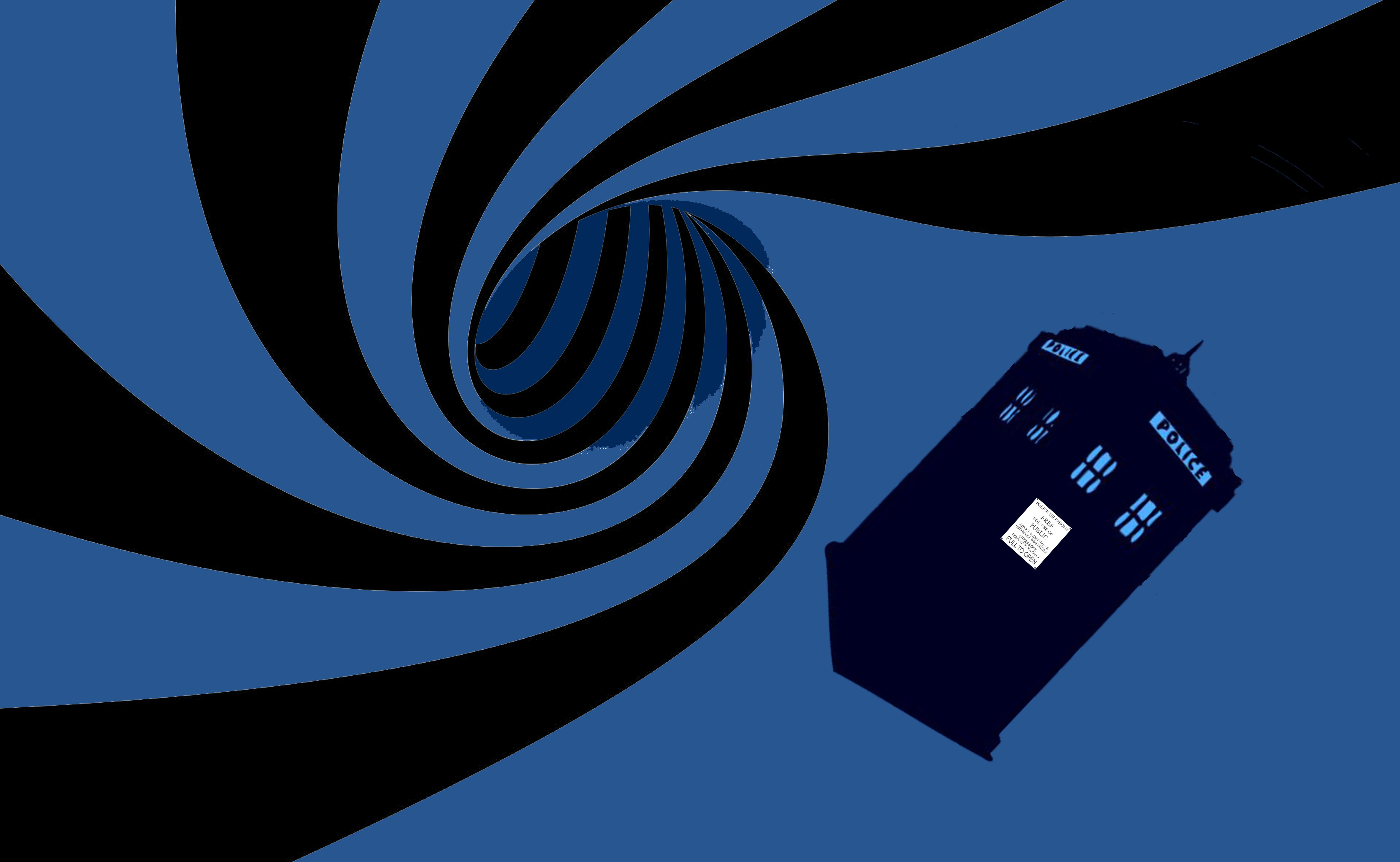 Fall Home Screen Wallpaper Tardis Blue Wallpapers Pixelstalk Net