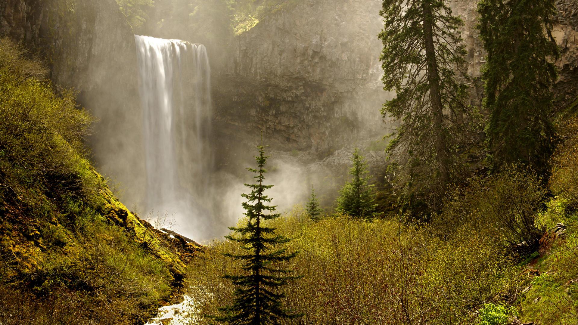 Multnomah Falls Oregon Winter Wallpaper Free Desktop Oregon Wallpapers Pixelstalk Net