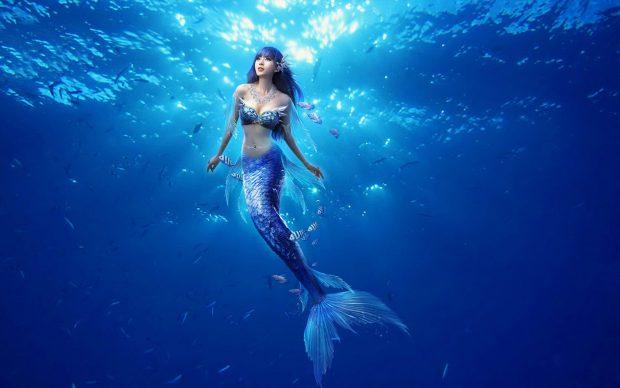 Game Quotes Wallpaper Mermaid Backgrounds Pixelstalk Net