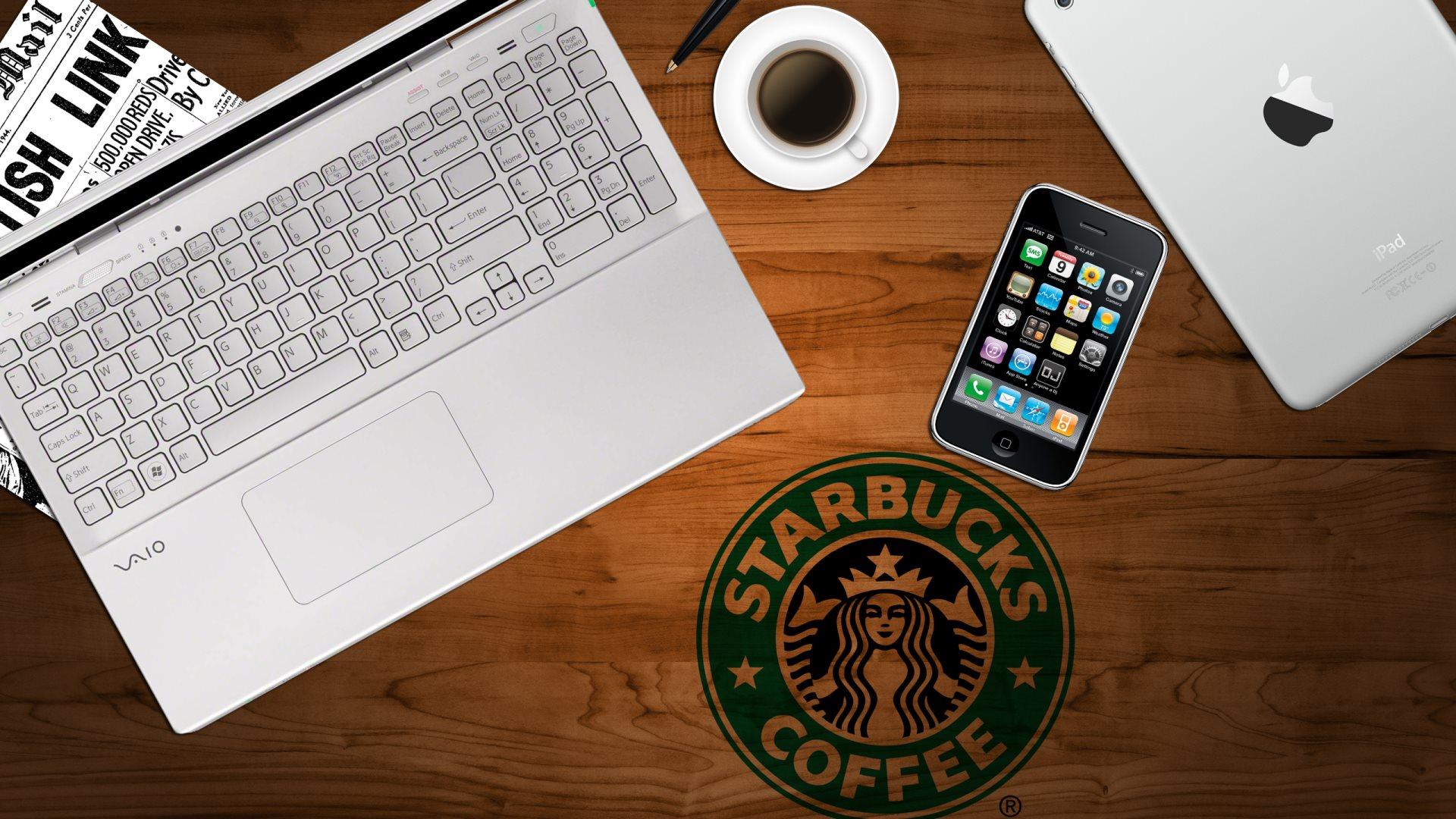 Starbucks Iphone Wallpaper Starbucks Backgrounds Pixelstalk Net