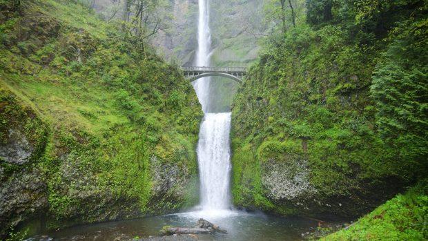 Multnomah Falls Oregon Wallpaper Free Desktop Oregon Wallpapers Pixelstalk Net