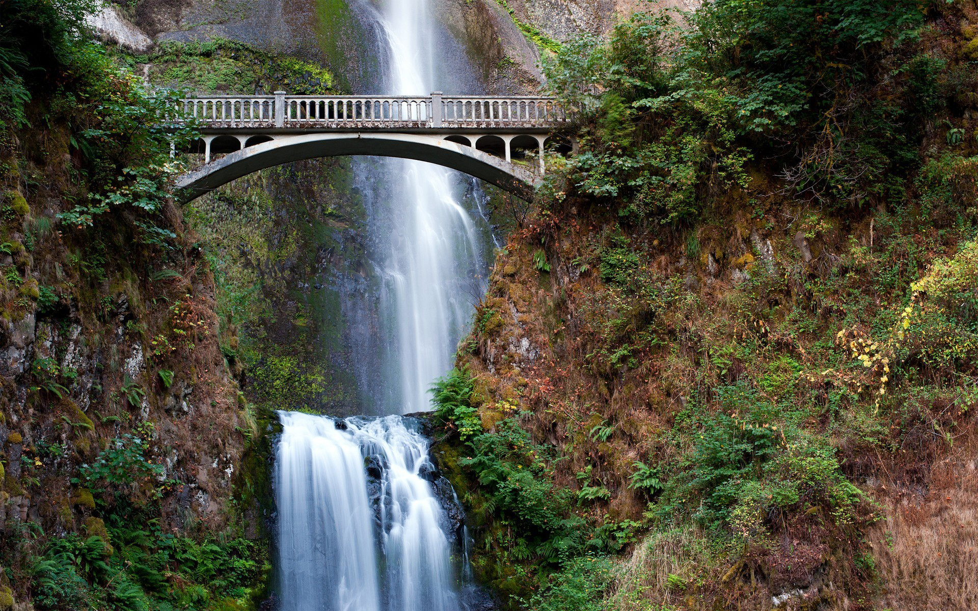 Multnomah Falls Oregon Winter Wallpaper Free Desktop Oregon Wallpapers Pixelstalk Net