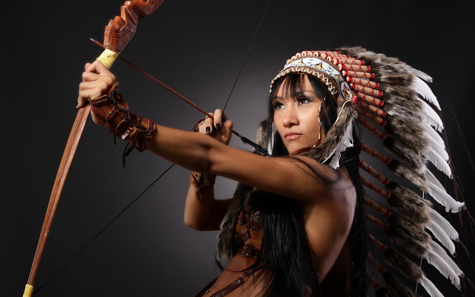 Girl Native American Backgrounds
