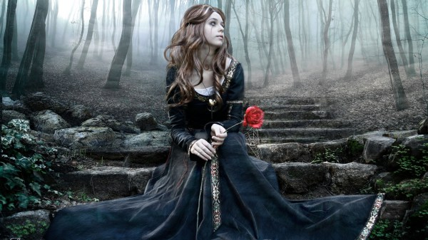 Beautiful Gothic Art Girls