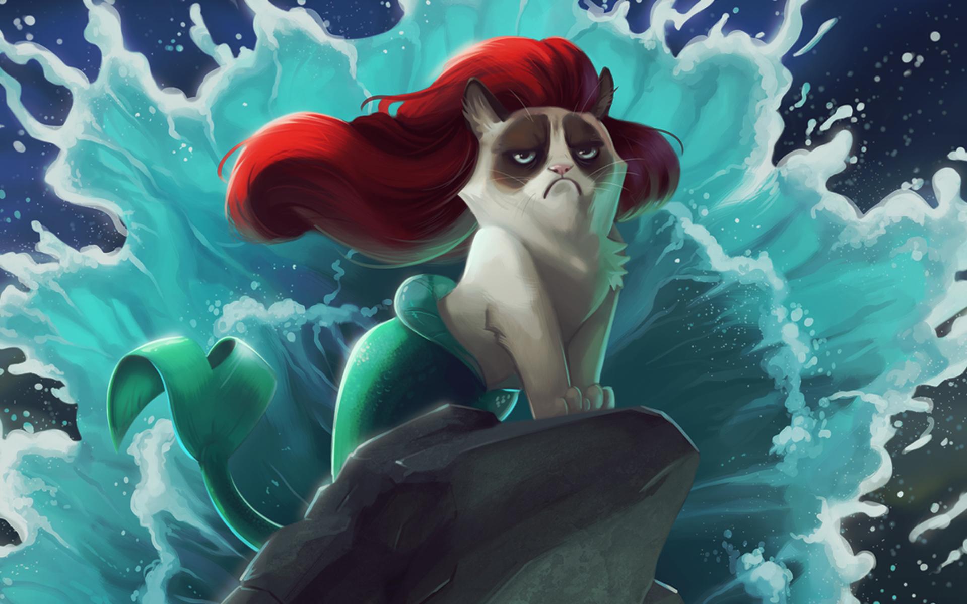 Disney Princess Quotes Wallpaper Mermaid Backgrounds Pixelstalk Net