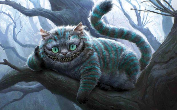 Fall Wallpaper For Computer Desktop Free Cheshire Cat Wallpapers Download Pixelstalk Net