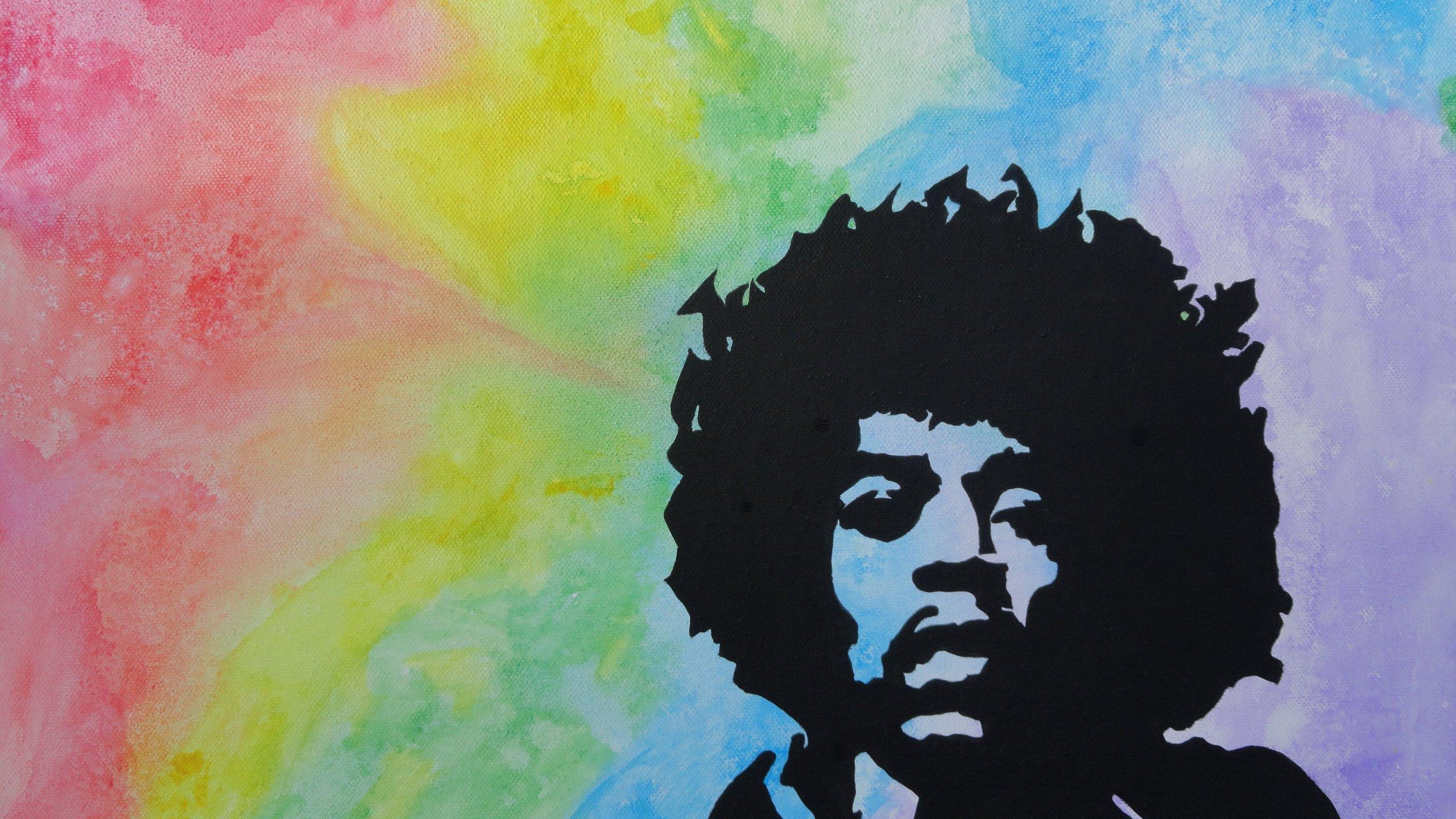 Jimi Hendrix HD Backgrounds