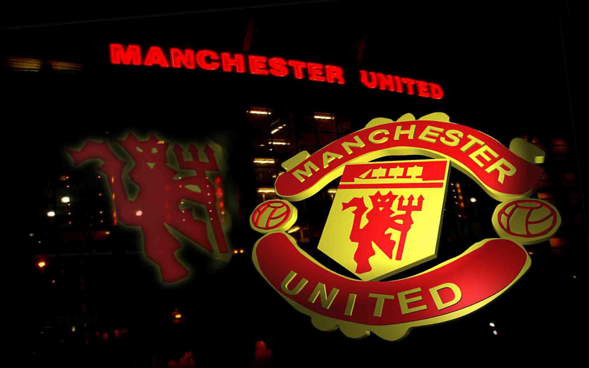 Wallpaper Man Utd Hd Manchester United Logo Wallpapers Pixelstalk Net