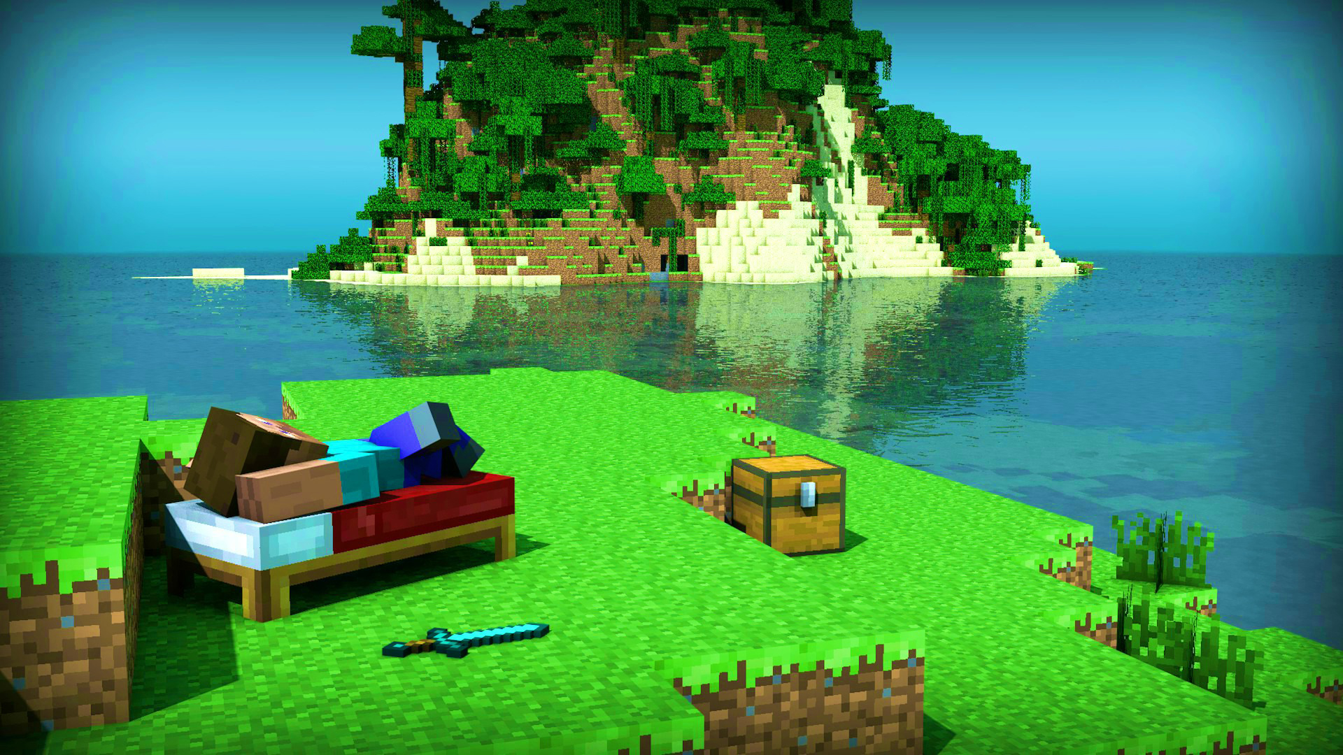 Thanksgiving 3d Wallpaper For Pc Minecraft Wallpaper Maker Pixelstalk Net