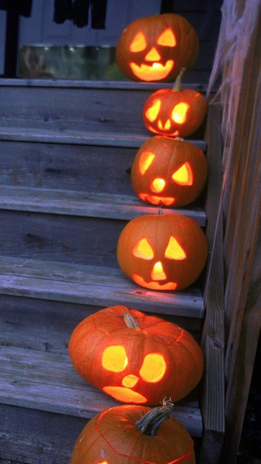 Pumpkins Fall Wallpaper Halloween Iphone Backgrounds Pixelstalk Net