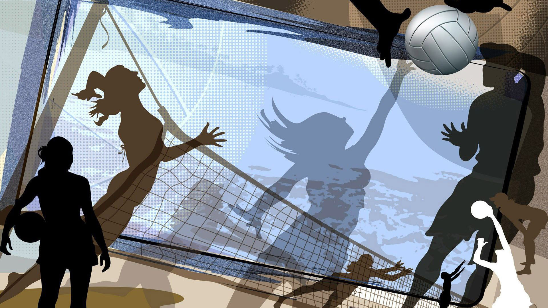 Florida Panthers Iphone Wallpaper Free Desktop Volleyball Wallpapers Pixelstalk Net