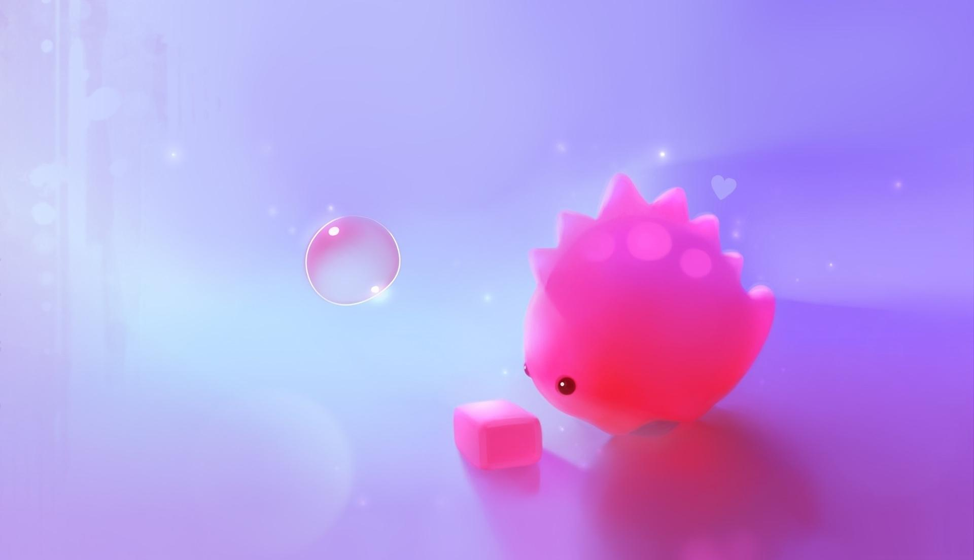 Wallpaper Dino Cute Hd Pink Bubble Wallpapers Pixelstalk Net