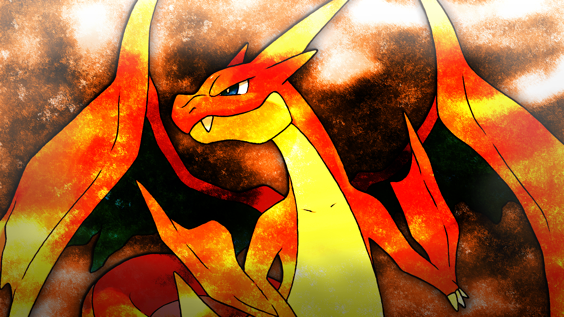 Mythical Creatures In The Fall Wallpaper Pokemon Charizard Wallpapers Download Free Pixelstalk Net