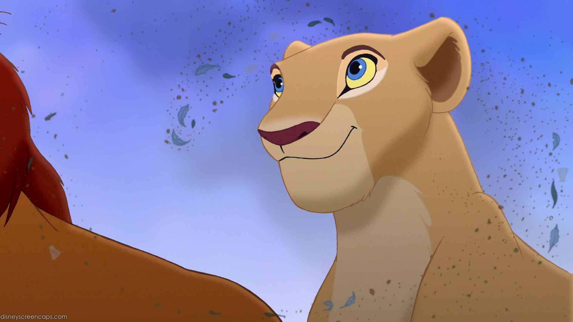 characters in the lion king movie nala wayans bikini