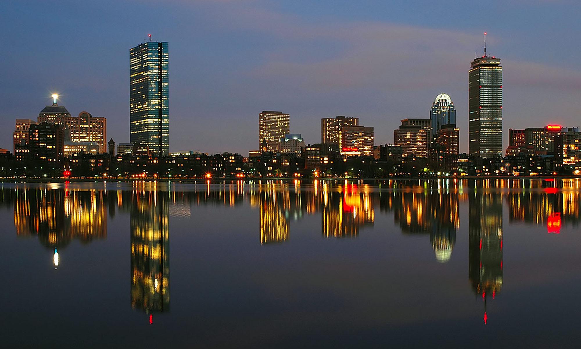 Fall In Boston Wallpaper Hd Boston Skyline Wallpapers Pixelstalk Net
