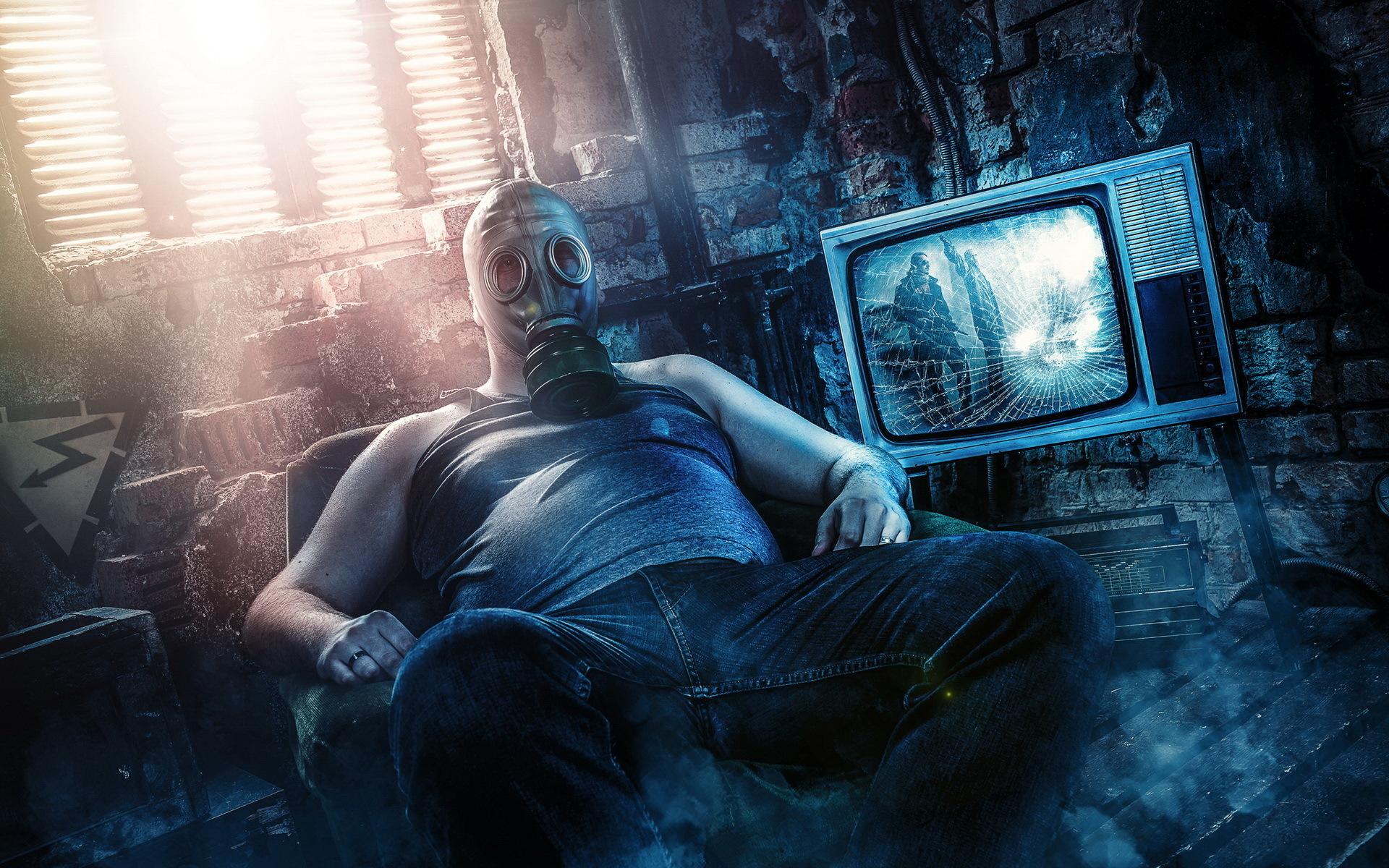 Gas Mask Girl Wallpaper Cyberpunk Backgrounds Hd Pixelstalk Net