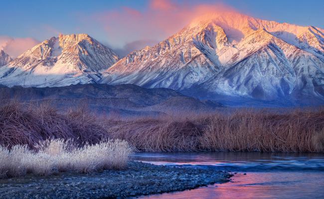 Snowy Mountains Wallpapers Hd Pixelstalk Net