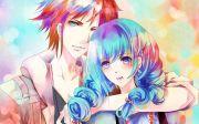 hd cute anime couple backgrounds