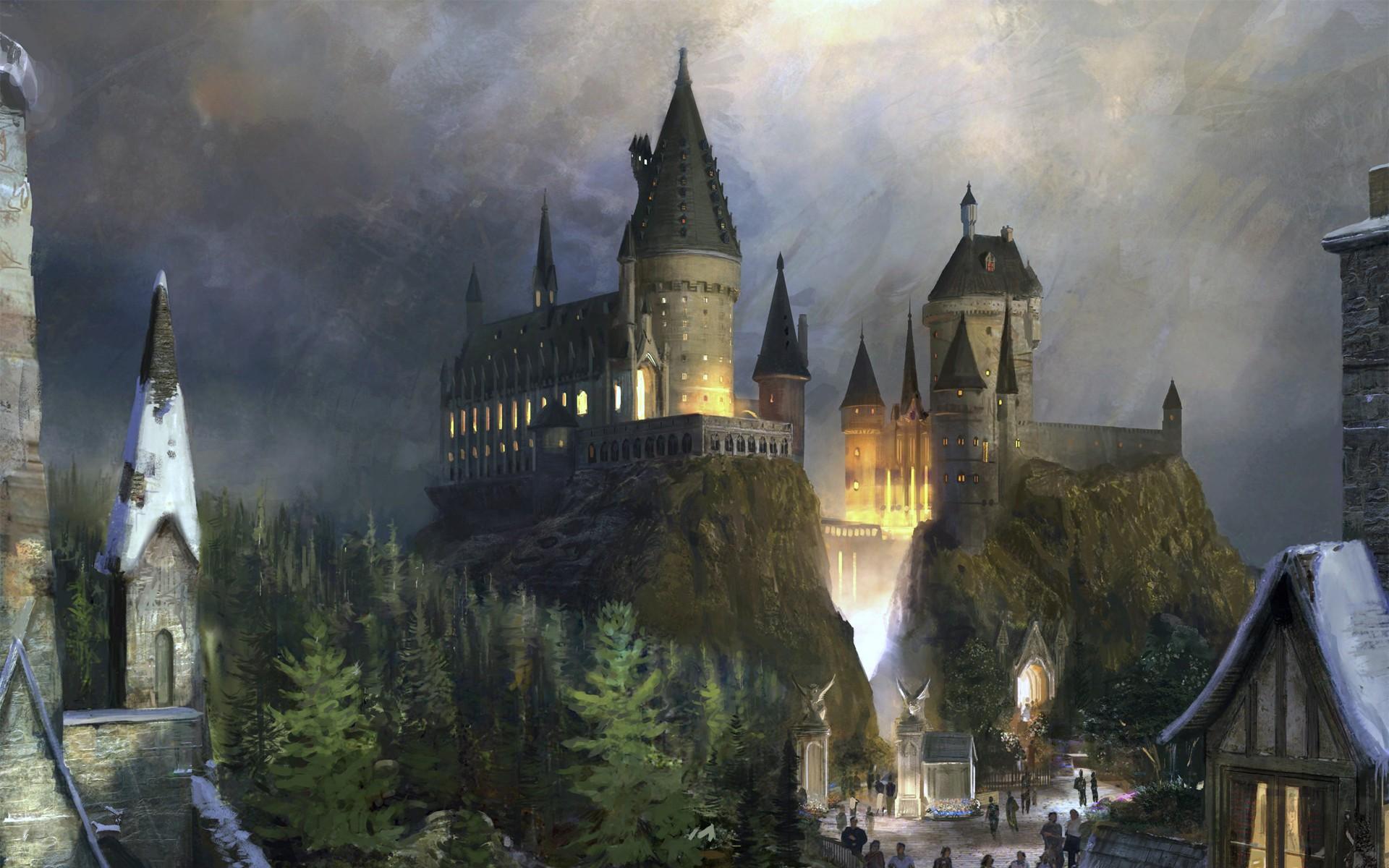Harry Potter Fall Wallpaper Hogwarts Castle Wallpapers Hd Pixelstalk Net