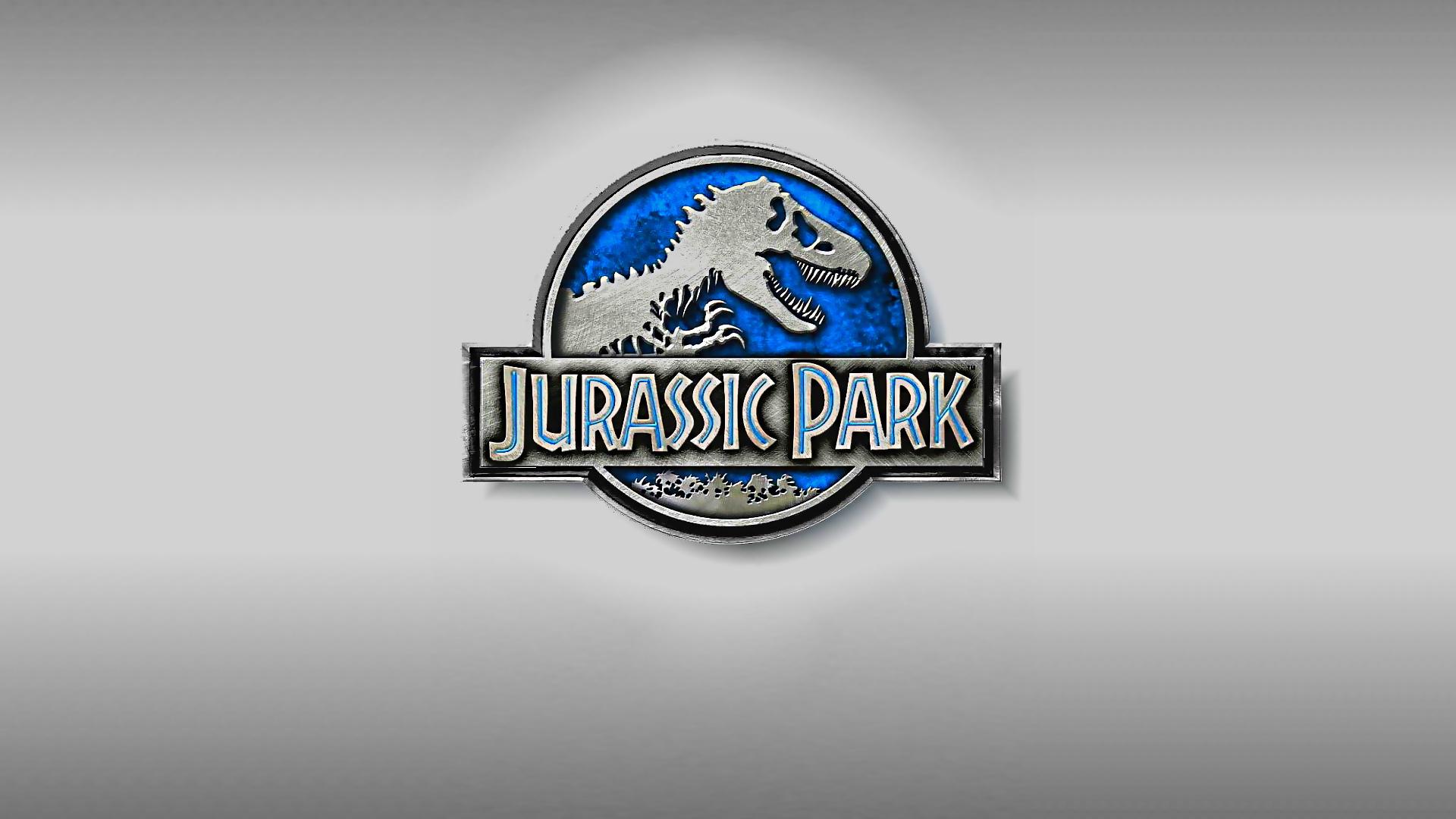 Cute Cartoon Hd Wallpaper Download Jurassic Park Logo Backgrounds Pixelstalk Net