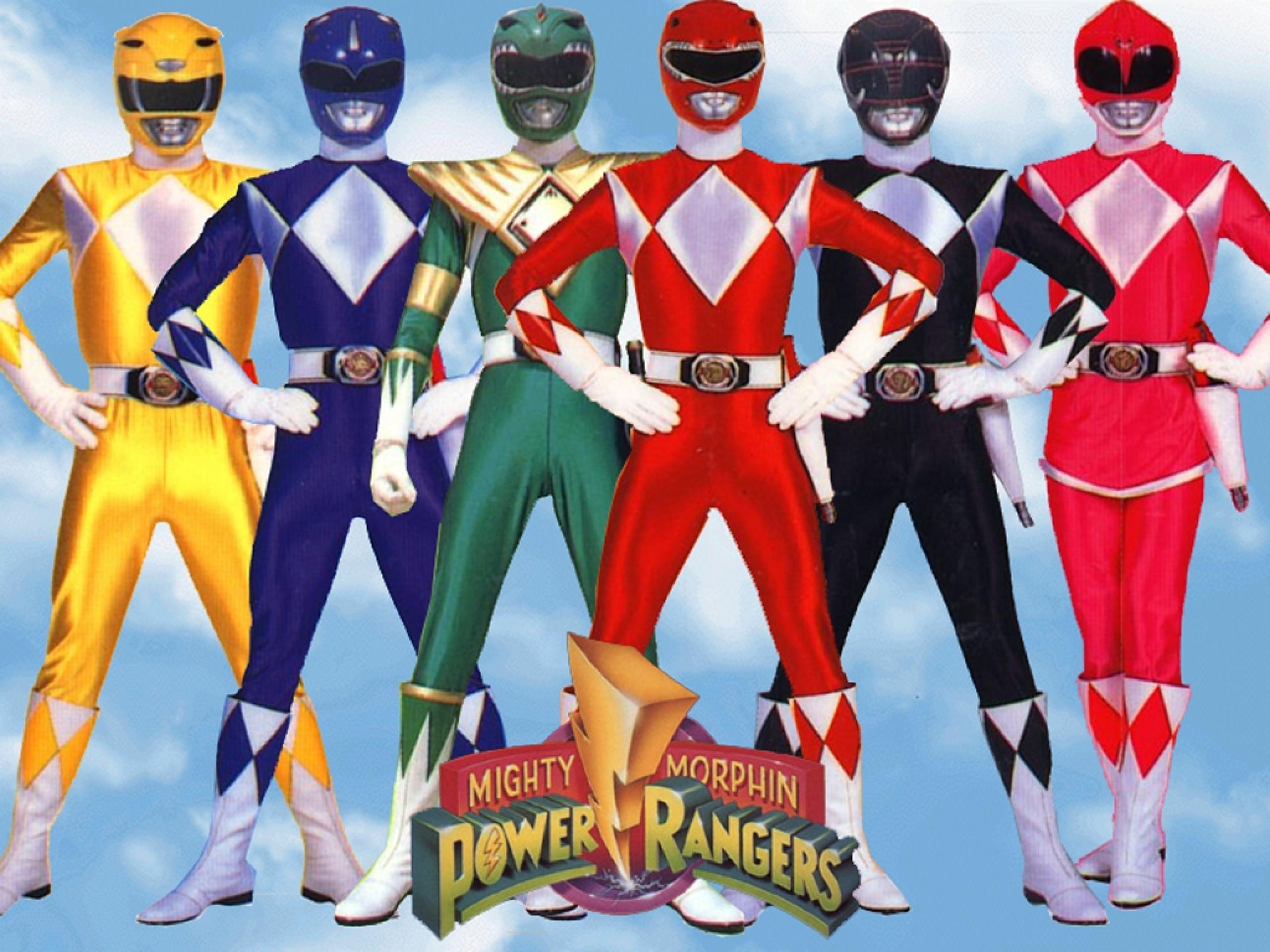 Mighty Morphin Power Rangers Iphone Wallpaper Power Rangers Backgrounds Hd Pixelstalk Net