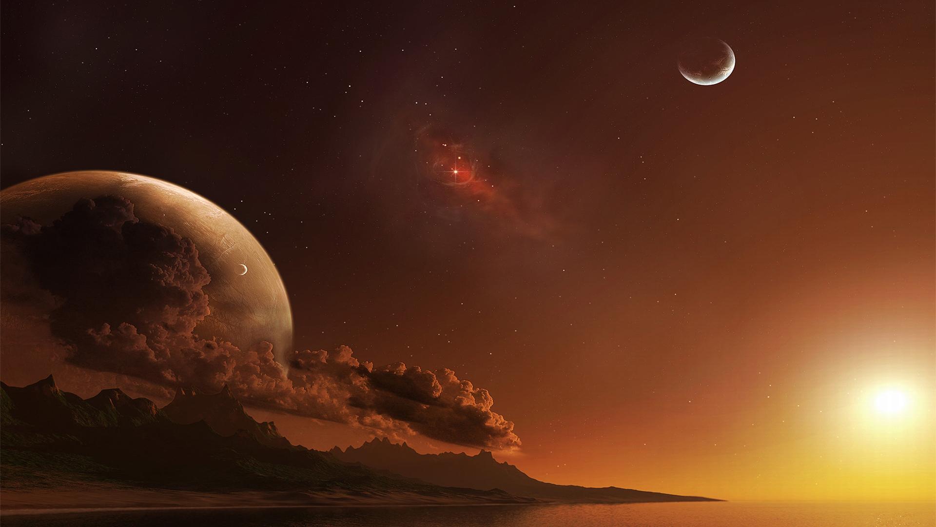 Free Beautiful Desktop Wallpapers For The Fall Alien Planet Wallpapers Download Free Pixelstalk Net