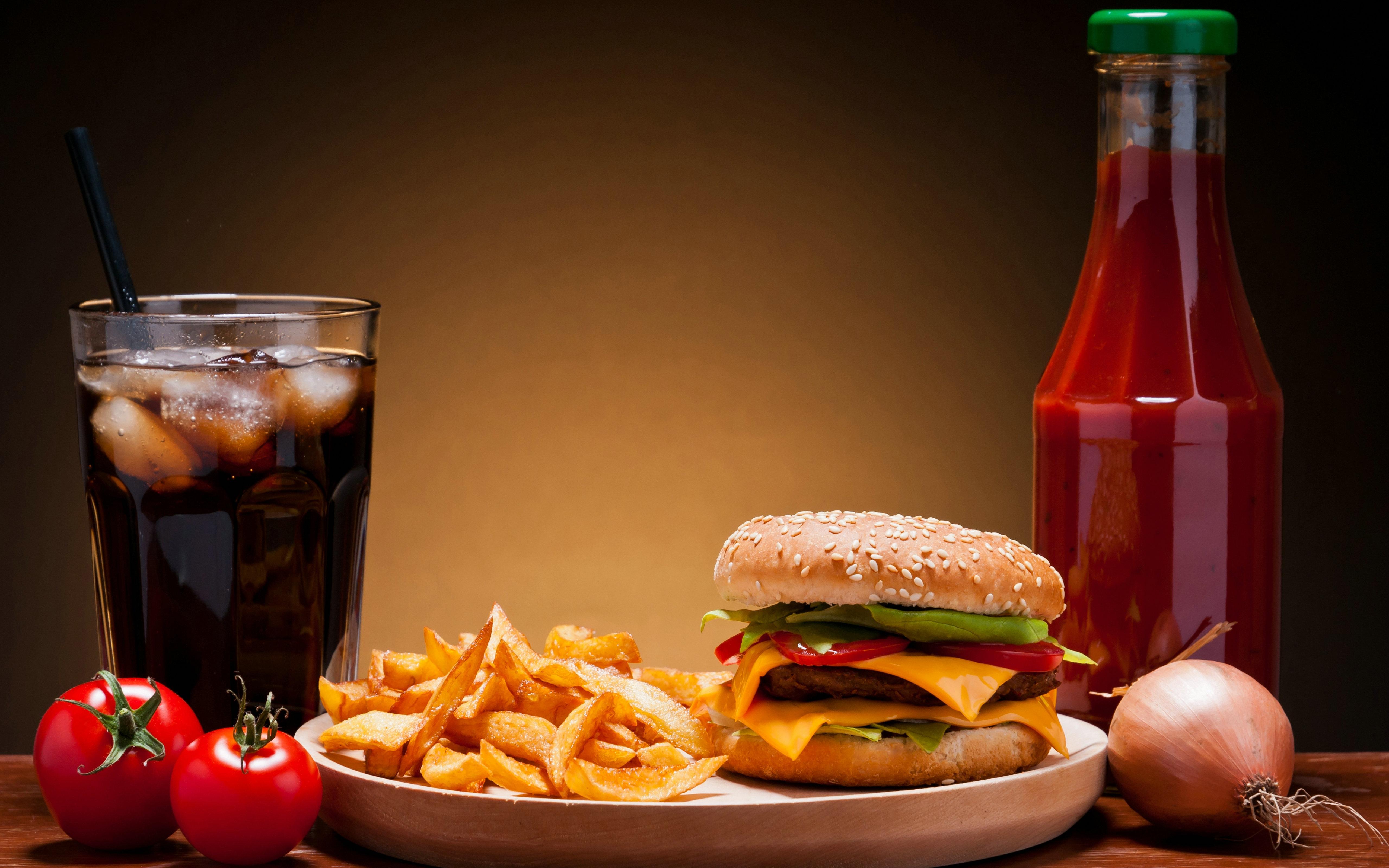 Cute Hamburger Wallpaper Free Food Backgrounds Pixelstalk Net