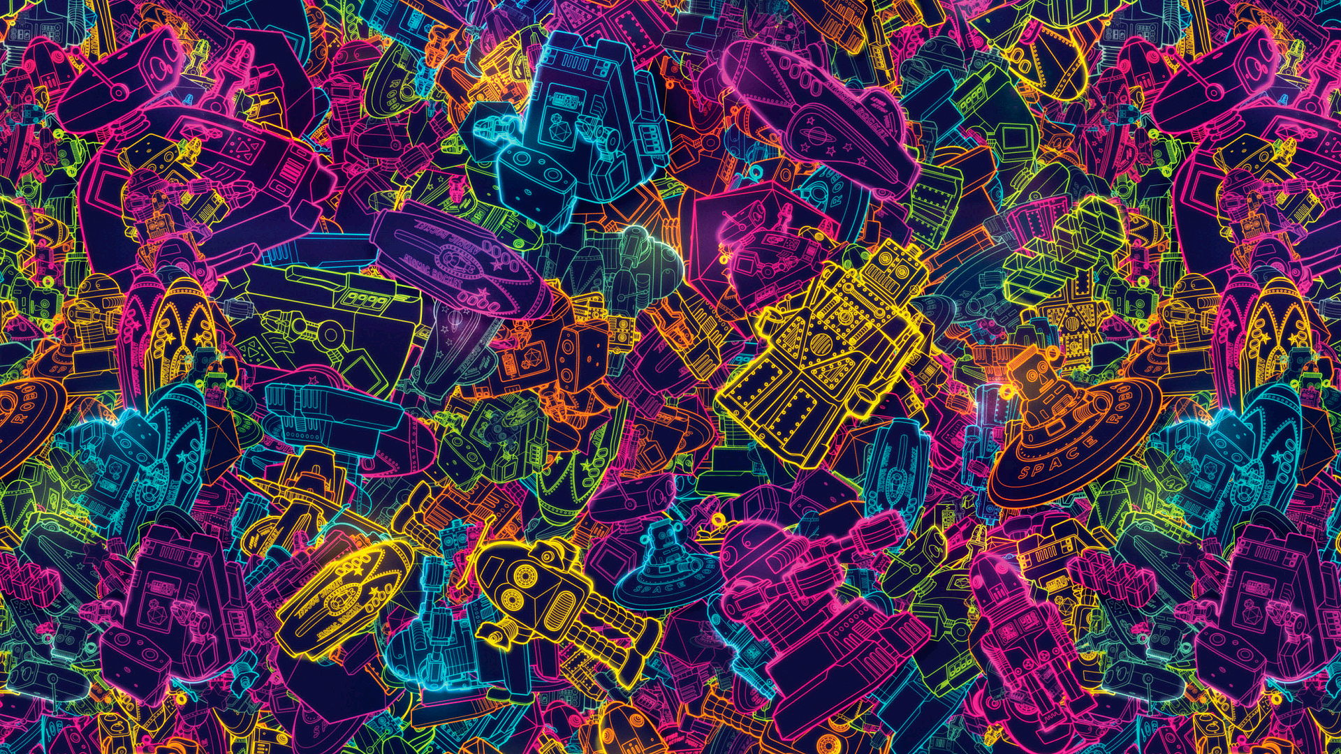 Hd 4k 80s Abstract Wallpaper Ultra