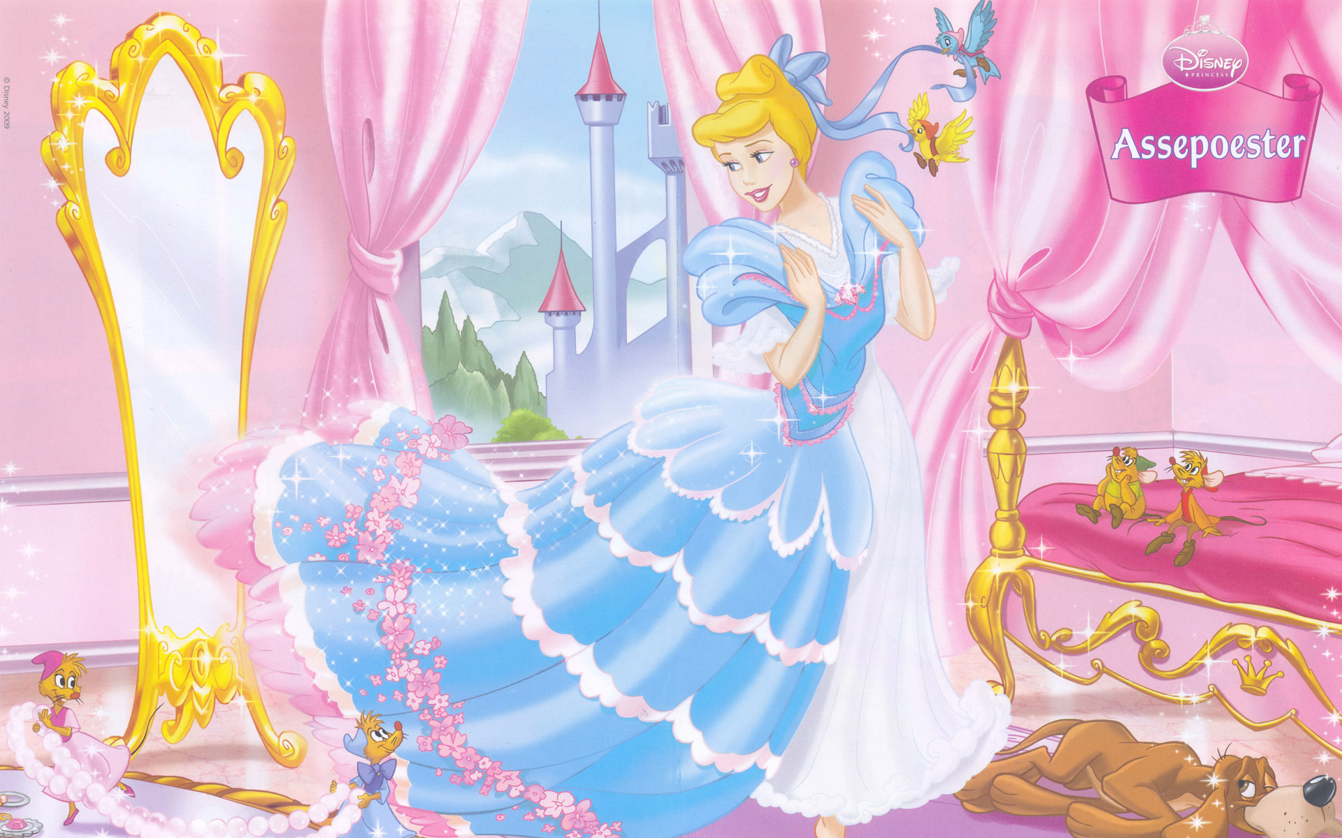 Disney Fall Wallpaper Hd Cinderella Backgrounds Pixelstalk Net