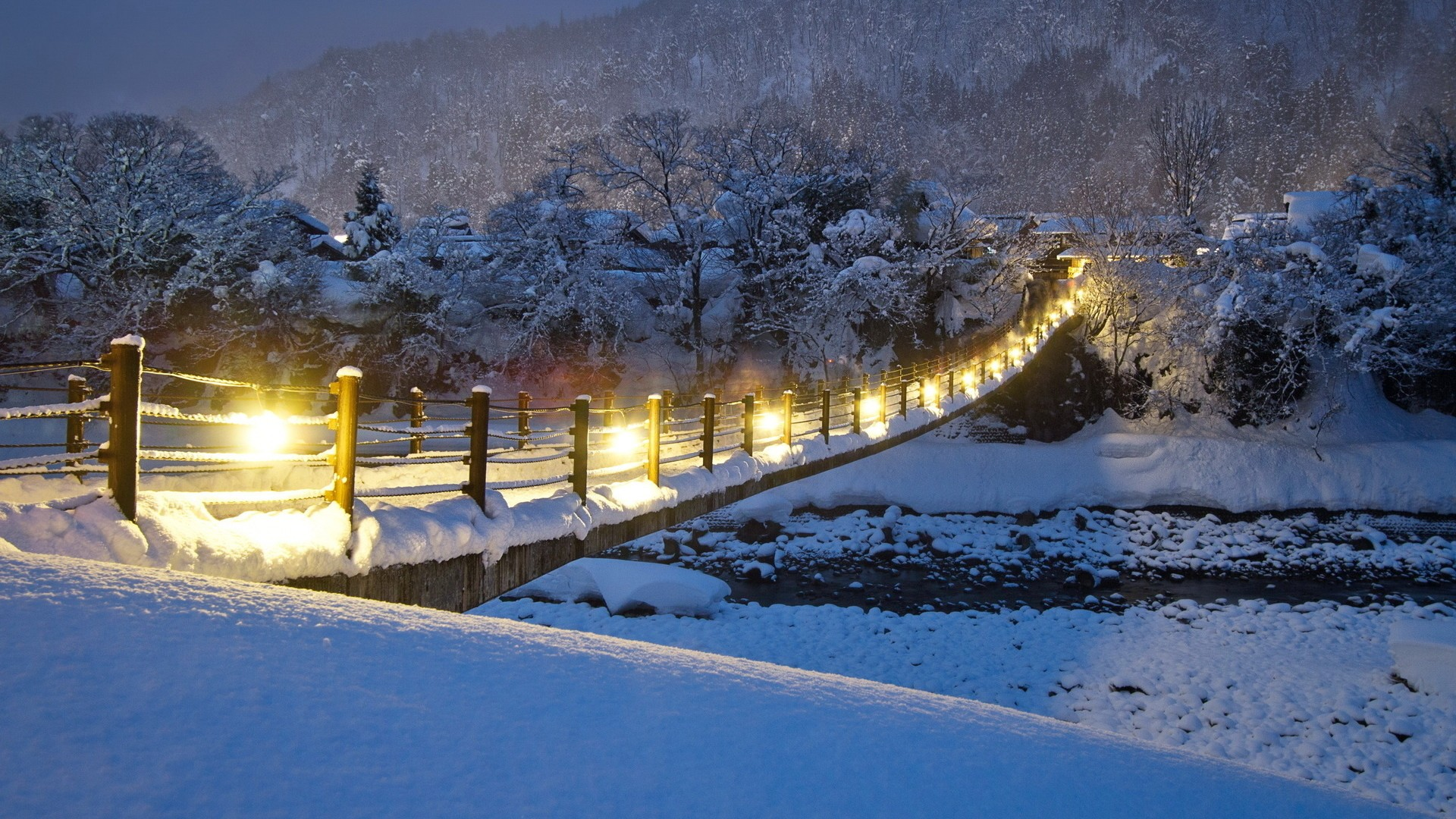 Free Christmas Falling Snow Wallpaper Download Full Hd Wallpapers 1080p Pixelstalk Net