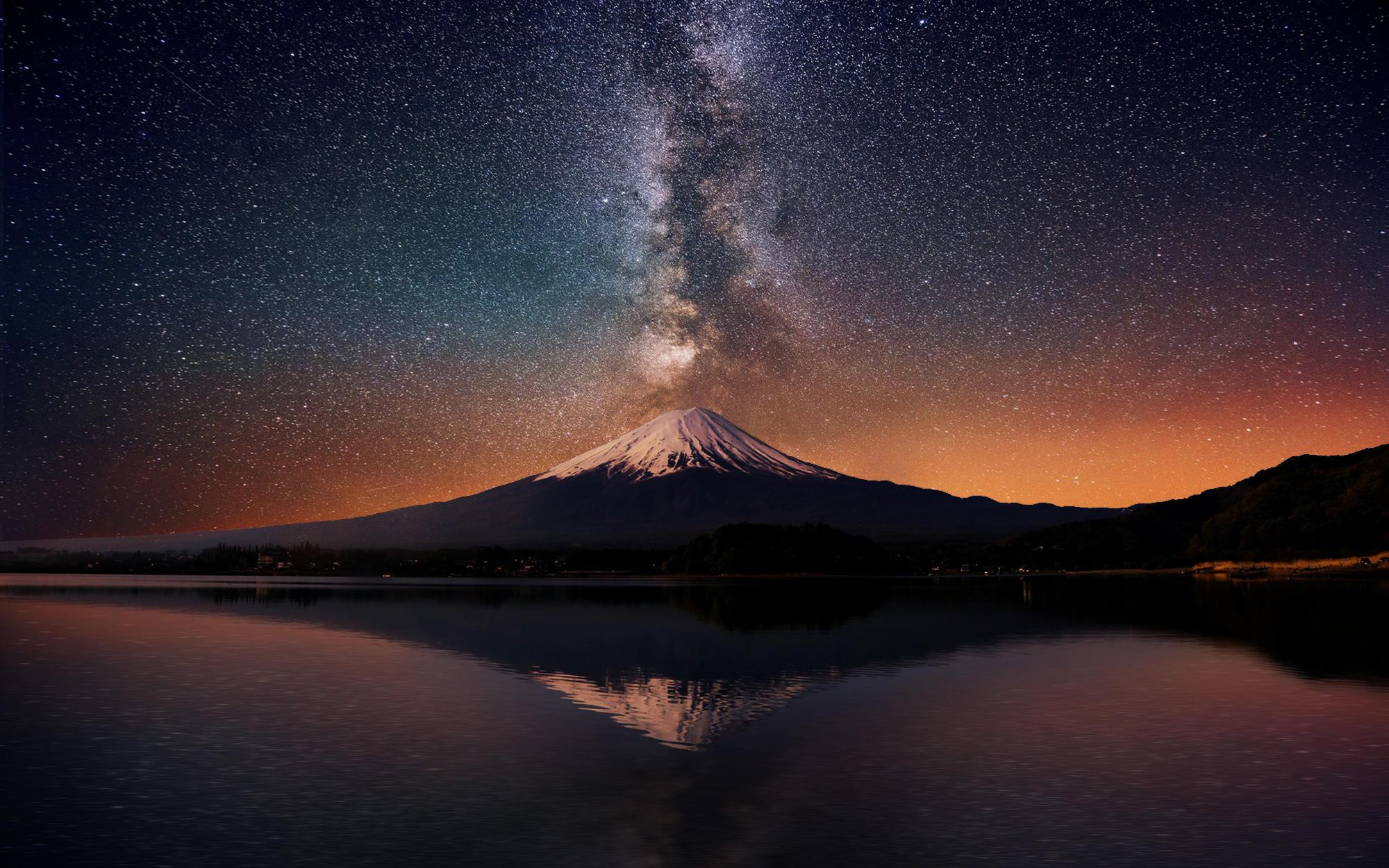 Fall Mountains Iphone Wallpaper Download Free Milky Way Galaxy Backgrounds Pixelstalk Net
