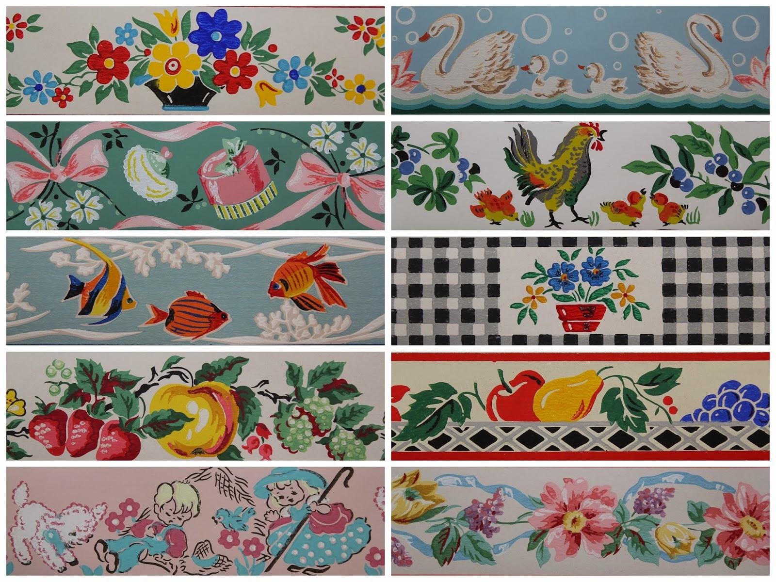 Baby Girl Nursery Wallpaper Borders Hd 1950s Backgrounds Pixelstalk Net