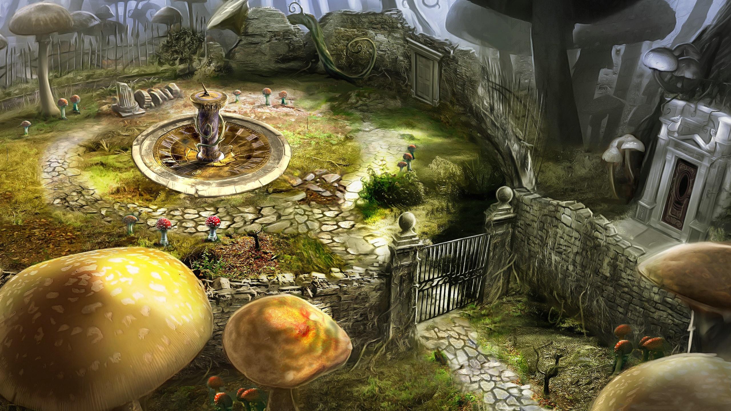 Harry Potter Fall Wallpaper Download Free Alice In Wonderland Background Pixelstalk Net