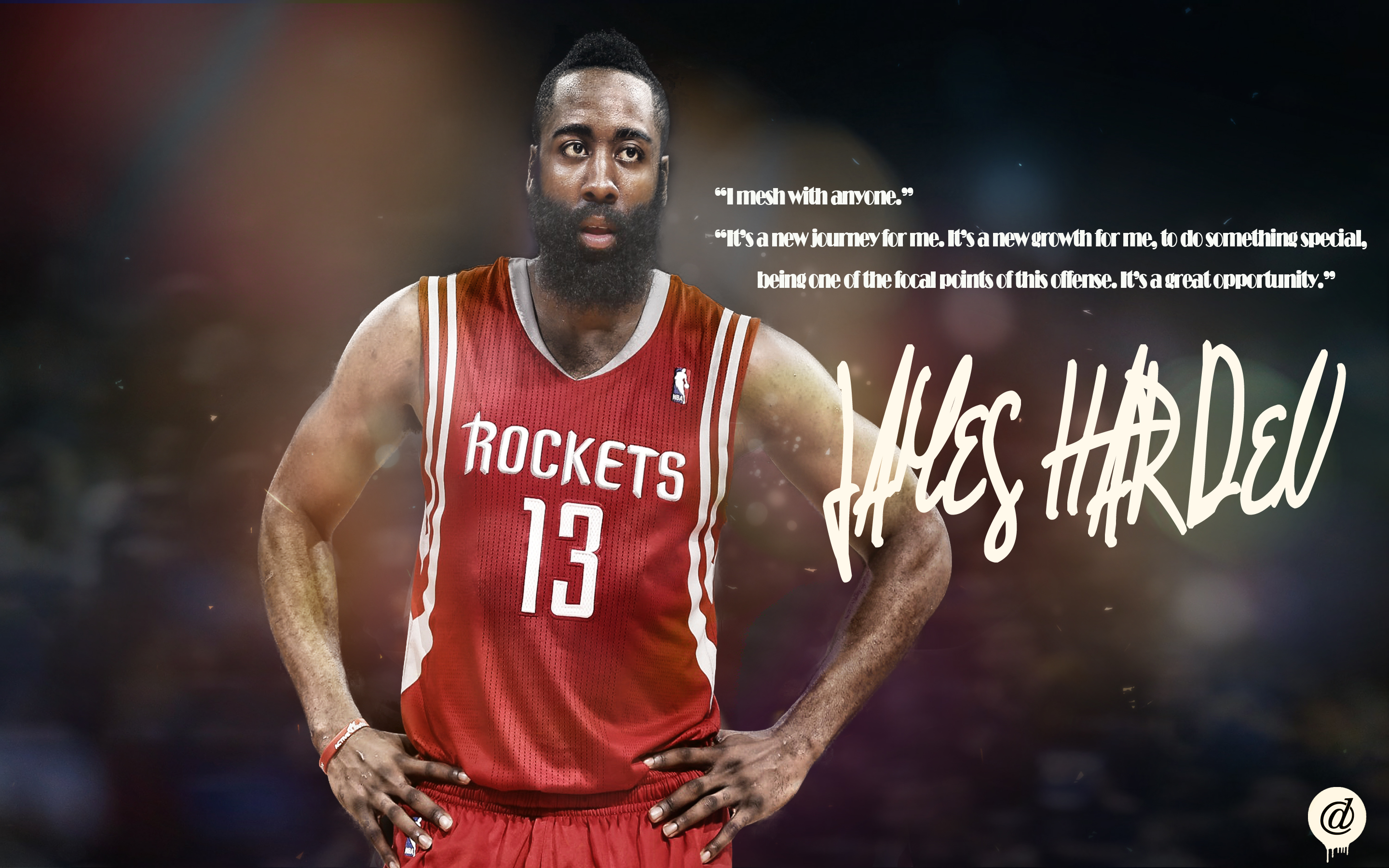 Derrick Rose Wallpaper Quotes James Harden Wallpapers Hd Pixelstalk Net