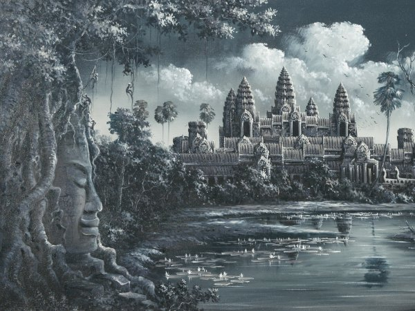 Angkor Wat Desktop Background