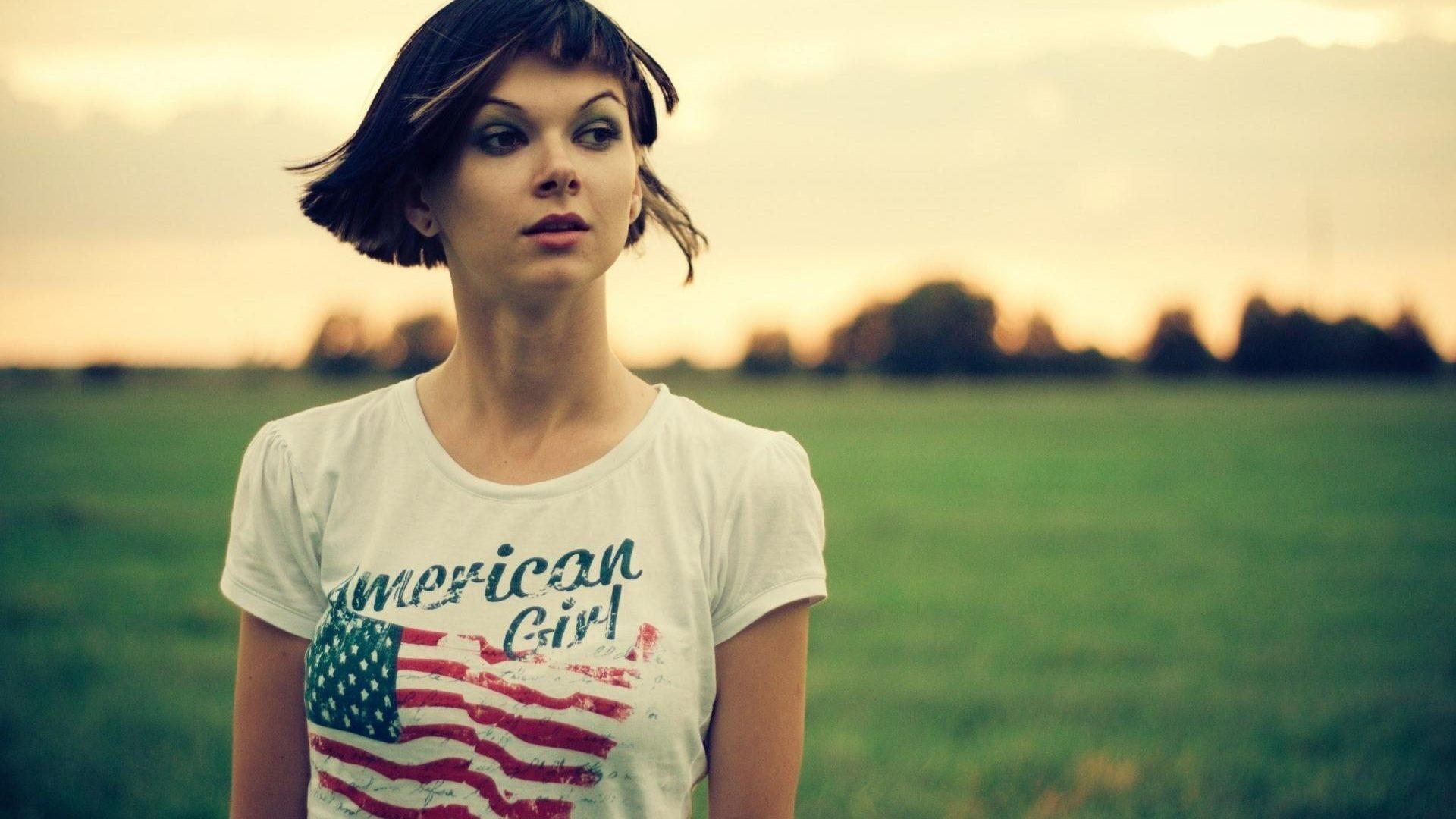 american girl wallpapers hd