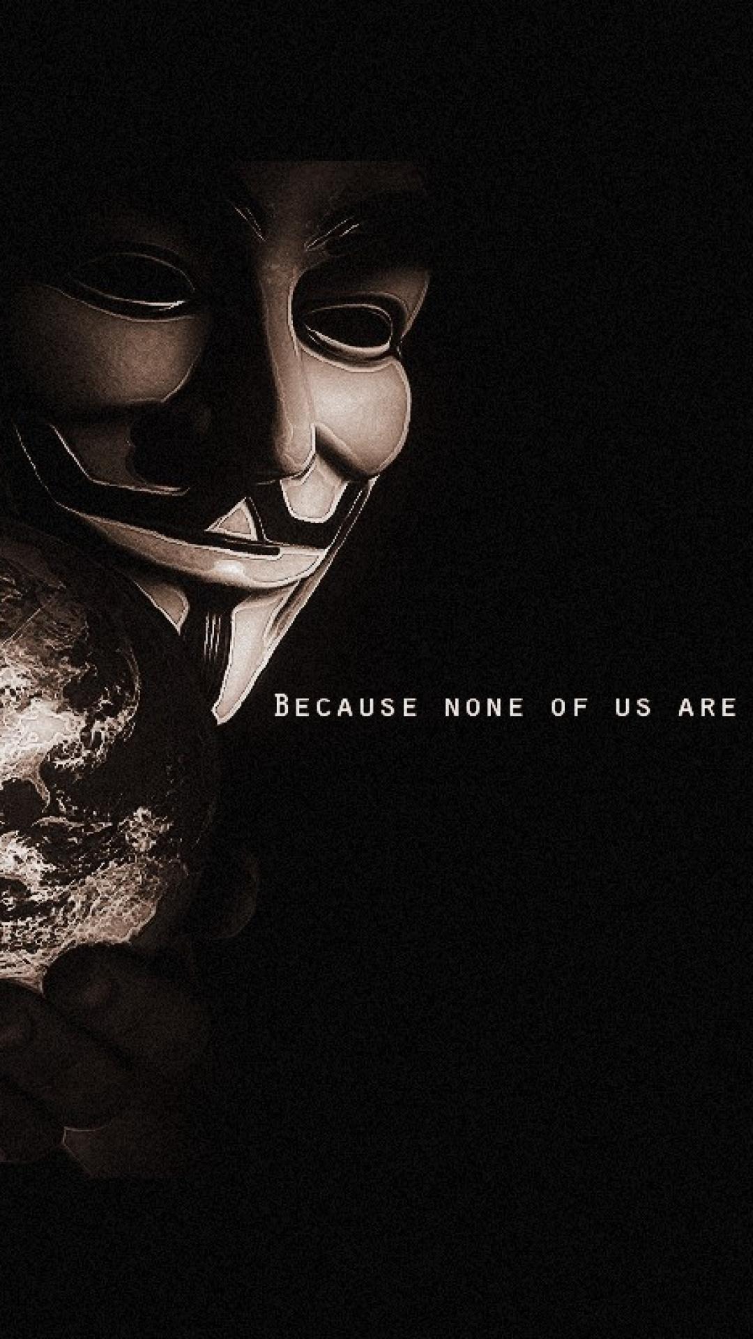 Anamoyus Hacker Wallpaper Quotes Anonymous Wallpaper Hd For Iphone Pixelstalk Net