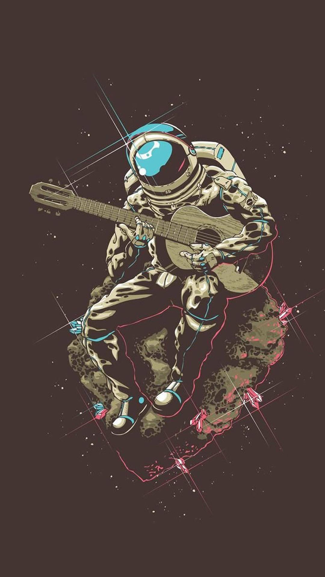 Electric Guitar Wallpaper Hd Astronaut Iphone Background Hd Pixelstalk Net
