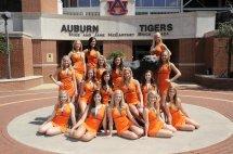 Auburn Tigers Football Cheerleaders