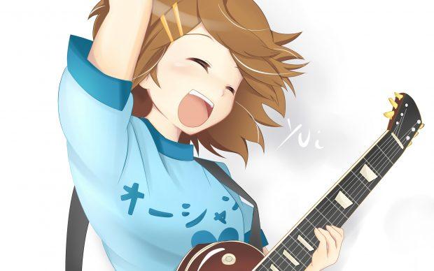 Beautiful Girl With Guitar Hd Wallpapers Badass Anime Wallpaper Hd Pixelstalk Net