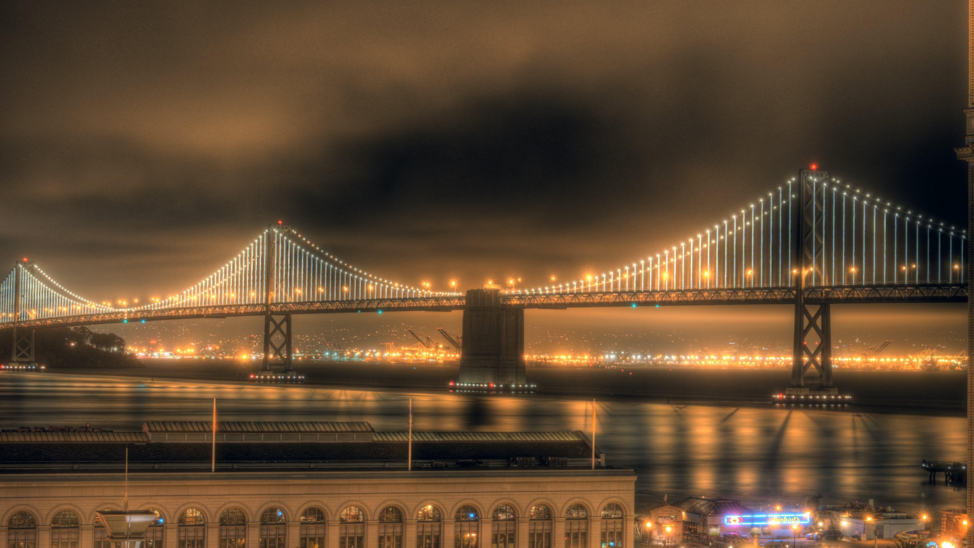 Panoramic Wallpaper Fall Bay Bridge Wallpaper Hd Pixelstalk Net