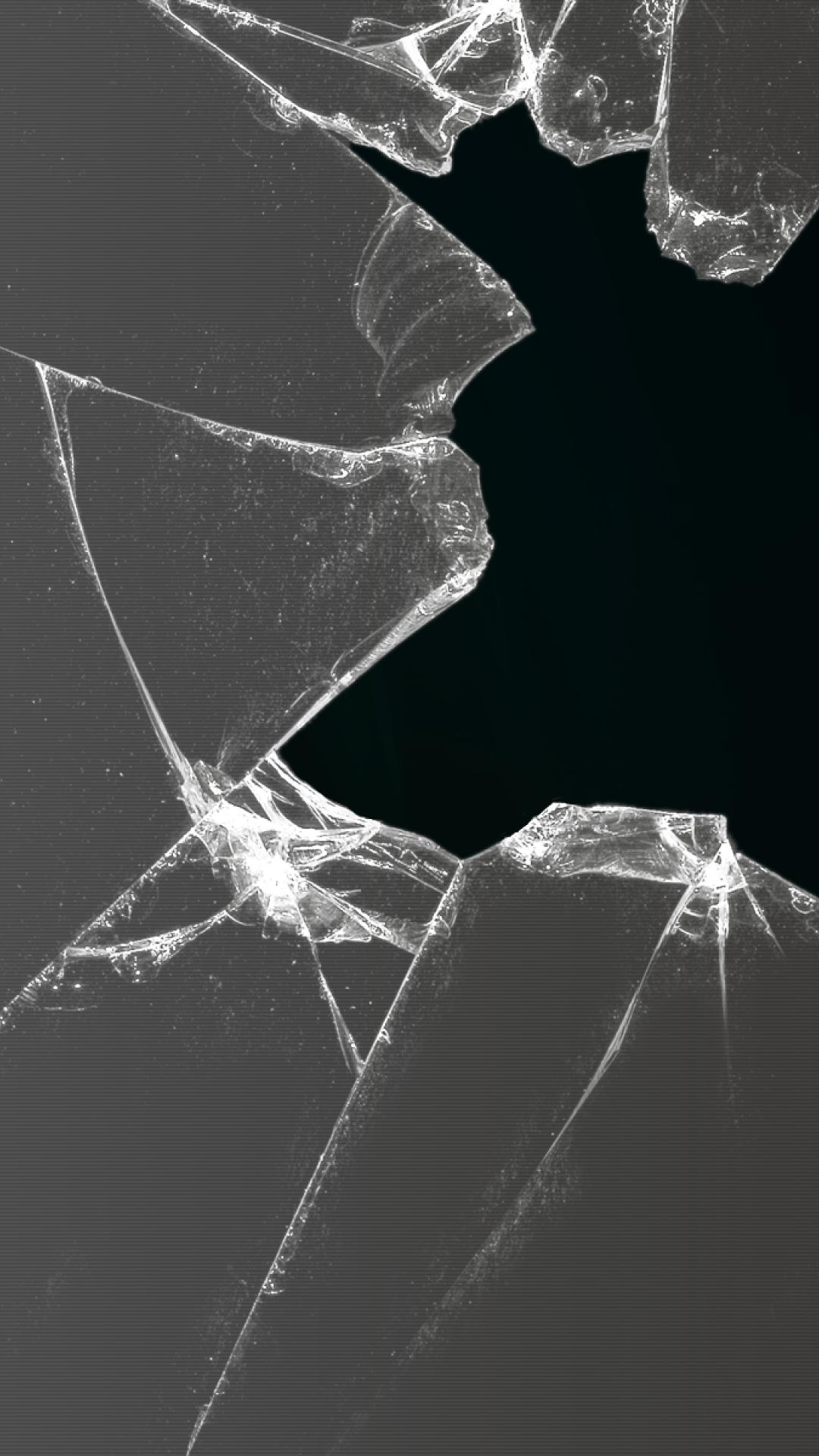 Iphone X Cracked Screen Wallpaper Broken Iphone Wallpapers Pixels Talk