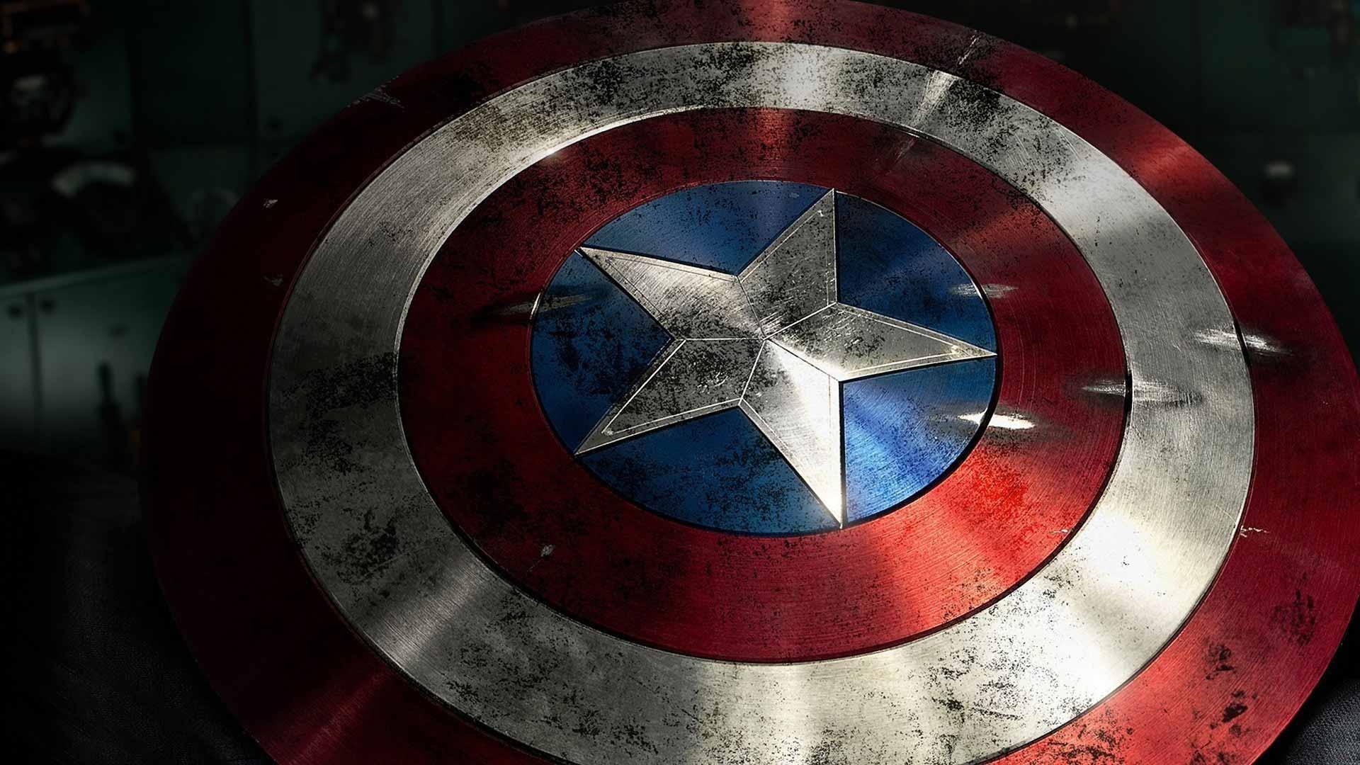 Captain America Shield Wallpaper HD