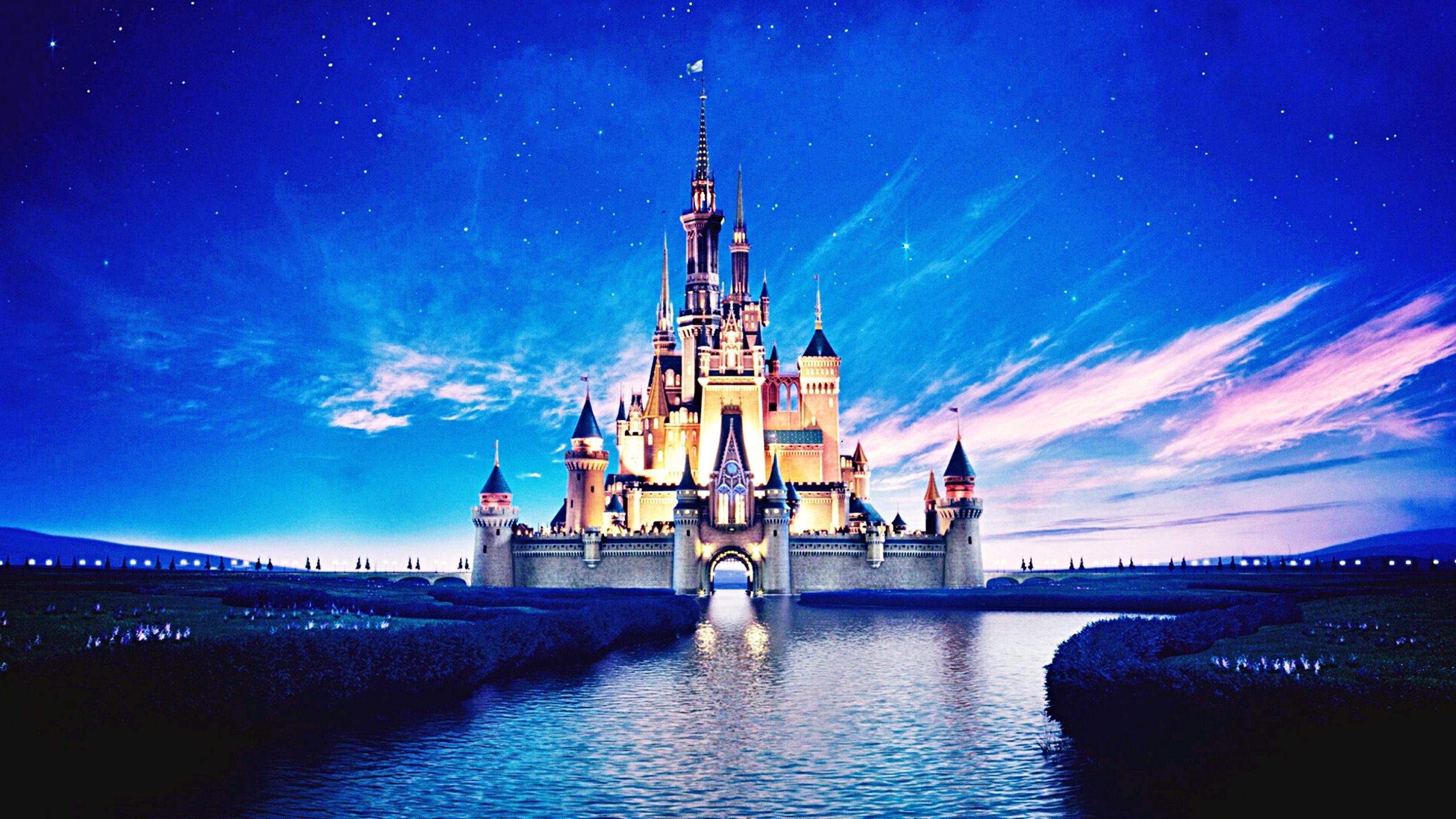 Cute Wallpapers Quotes Walt Disney Disney Castle Wallpapers Hd Pixelstalk Net