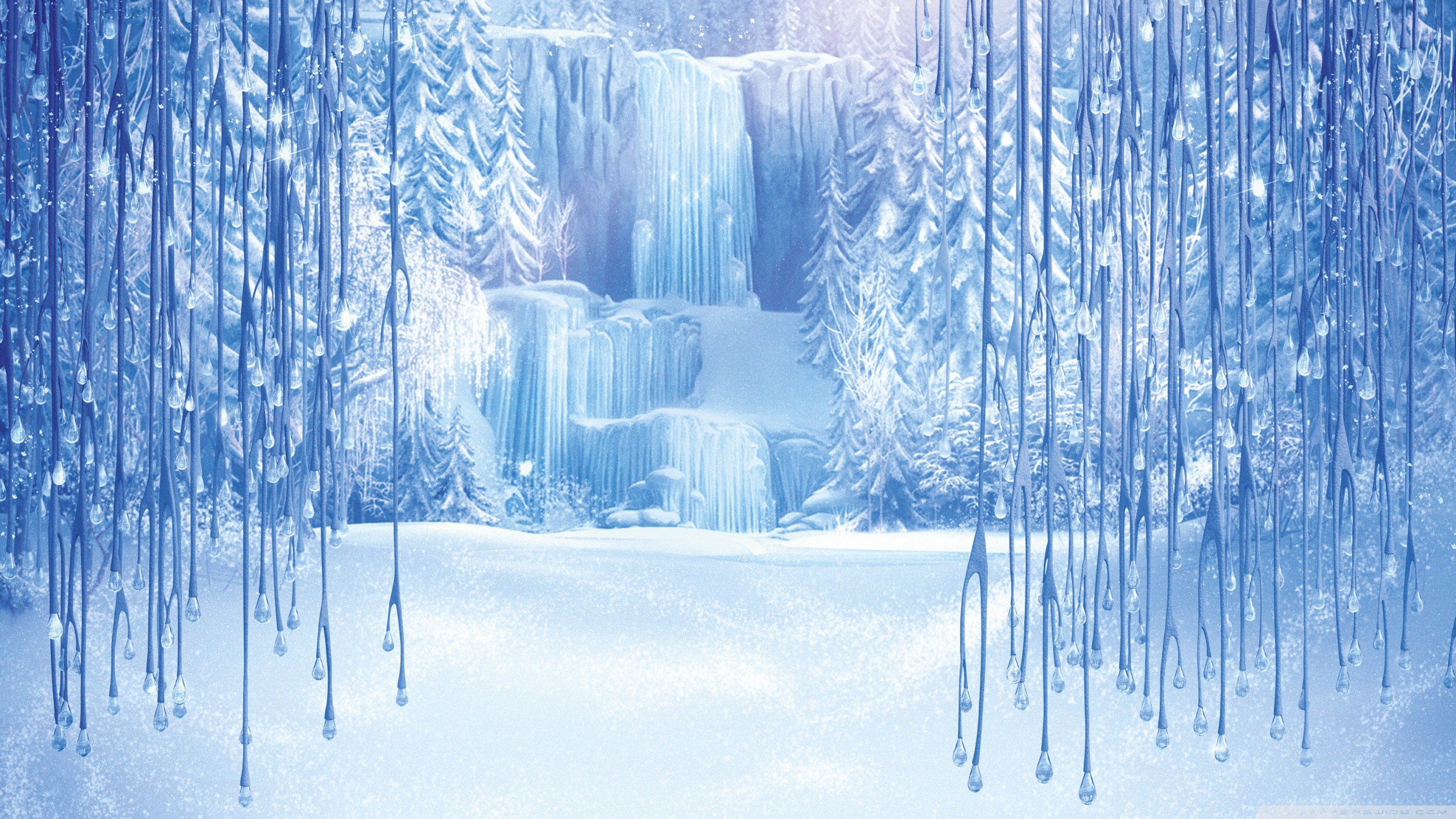 Animated Waterfalls Wallpapers Free Download Disney Frozen Wallpaper Hd Pixelstalk Net