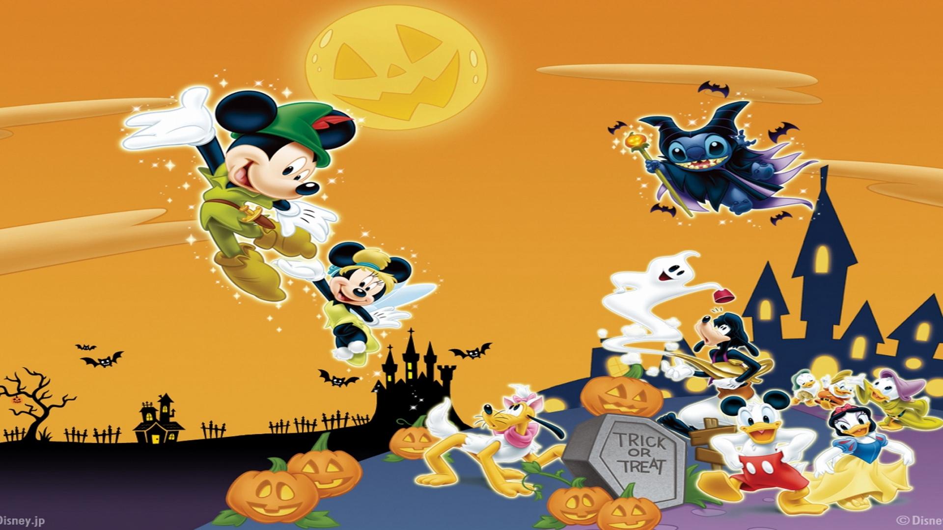 Fall Daisy Wallpaper Disney Halloween Wallpapers Hd Pixelstalk Net