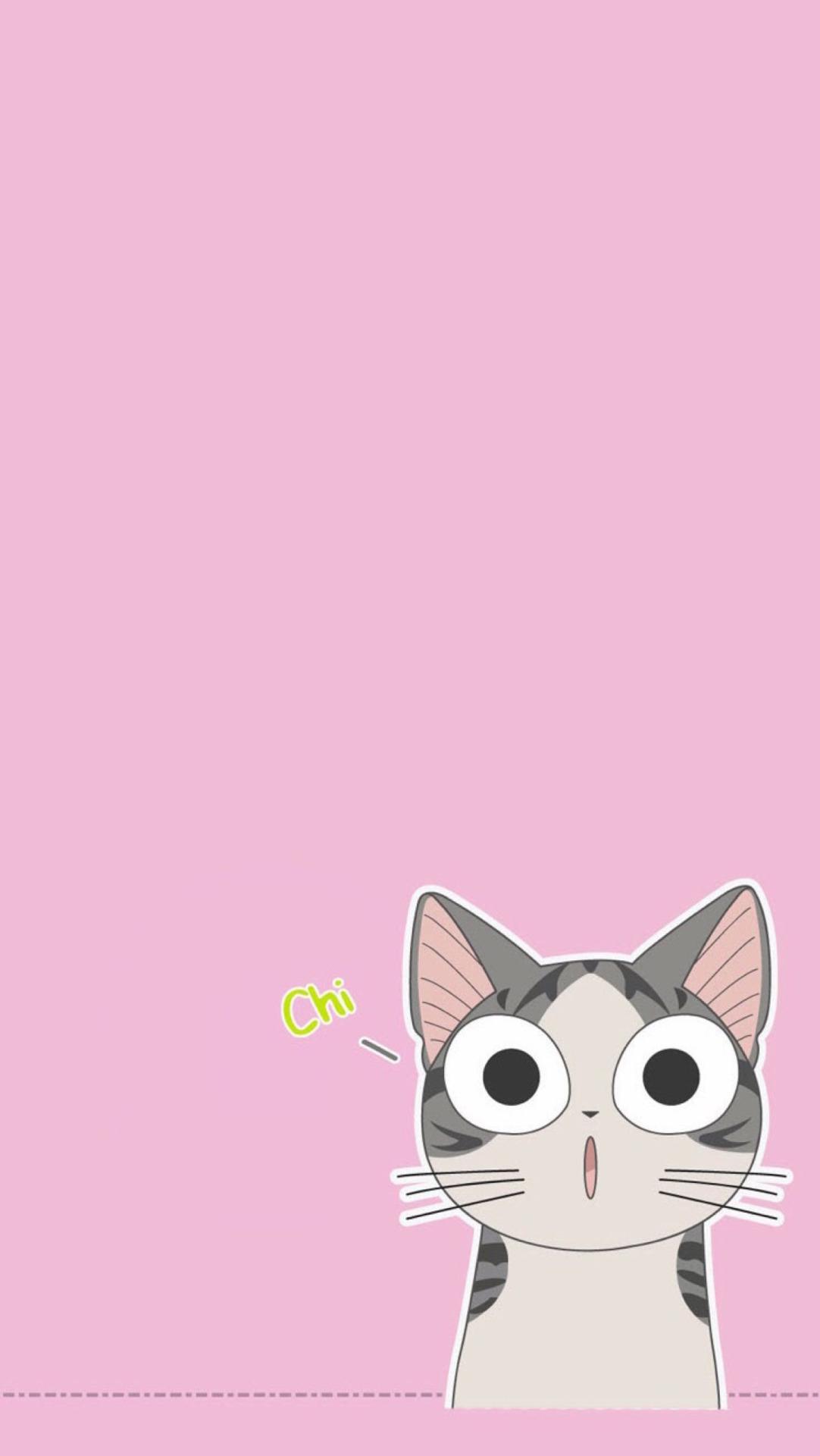 Pusheen Iphone Wallpaper Cute Kawaii Iphone Wallpapers Pixelstalk Net