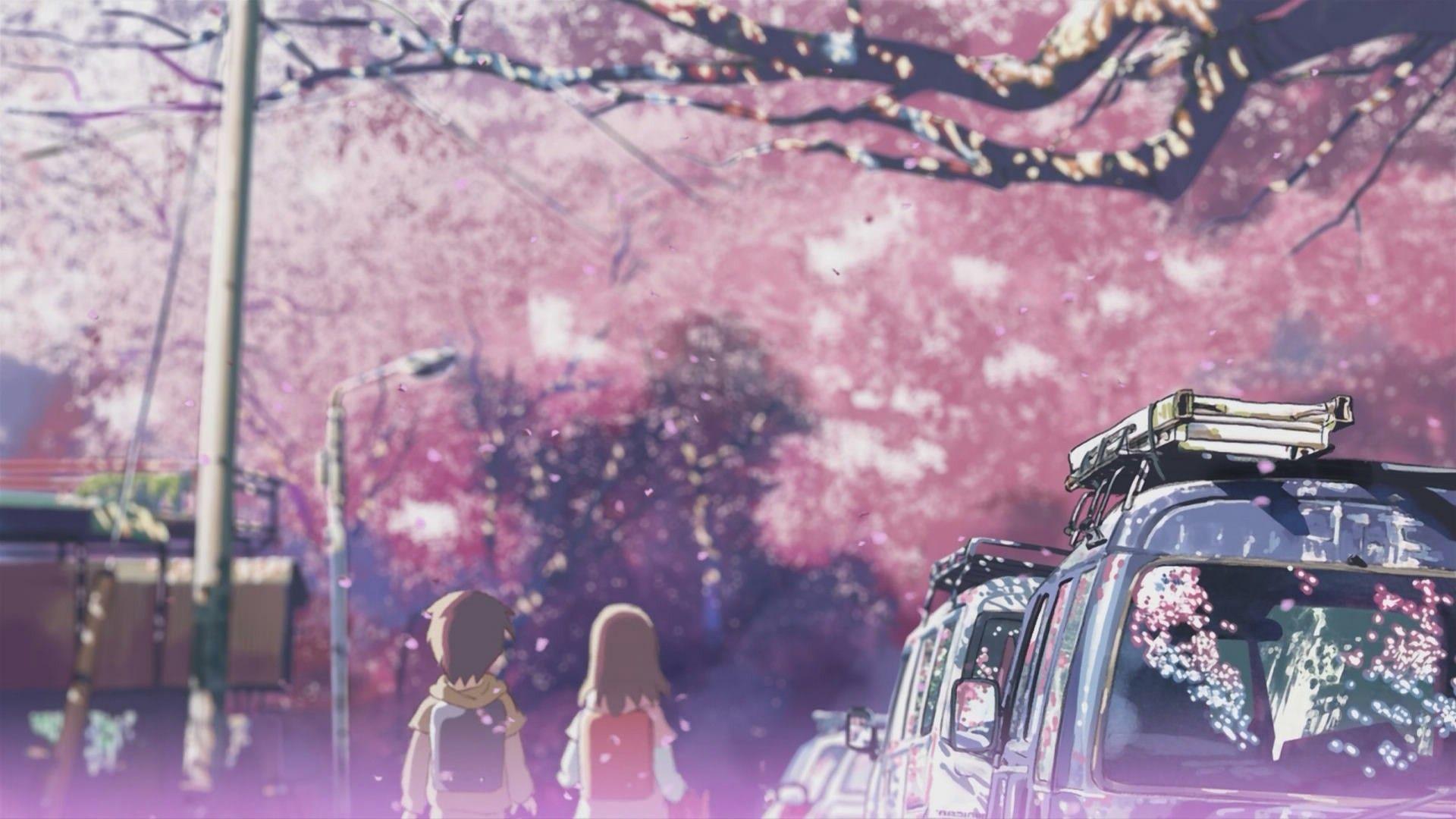 Cute Makoto Wallpaper 5 Centimeters Per Second Backgrounds Pixelstalk Net