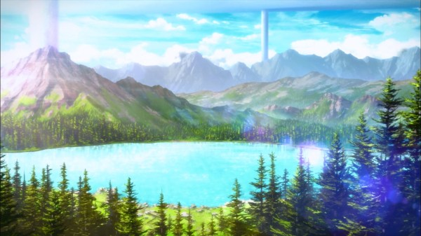 free anime landscape backgrounds