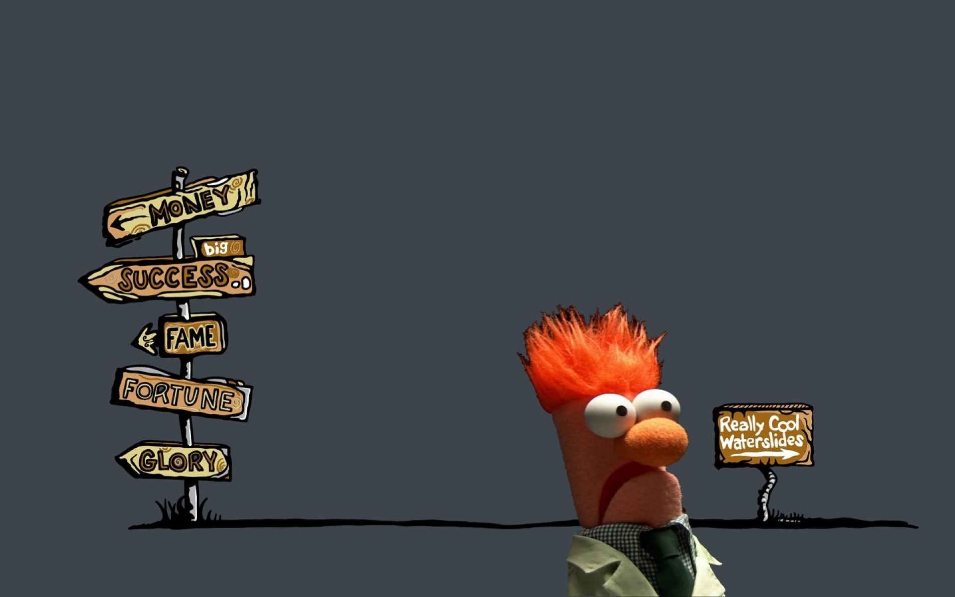Desktop Wallpaper Hd 3d Full Screen Thanksgiving Beaker Muppets Desktop Wallpaper Pixelstalk Net